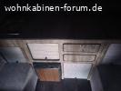Wohnkabine GFK Hubdach 12.2020 (346kg inkl Kühlsch.)